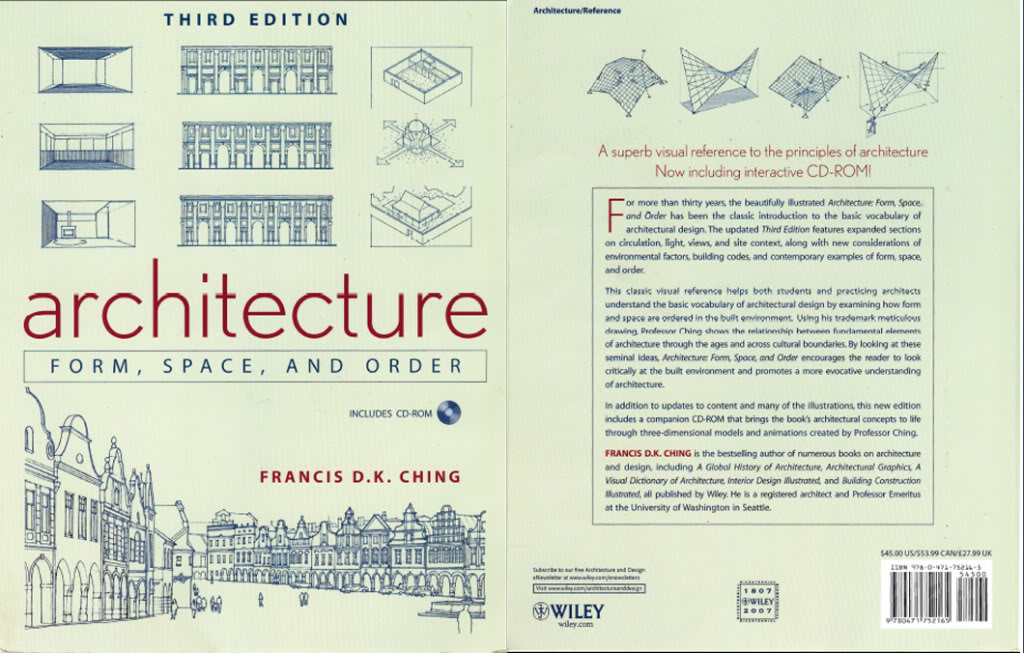 Review of architecture form space and order siamnovella for Form space and design architects